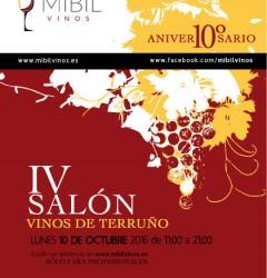 Cartel Salón IV Vinos de Terruño 2016